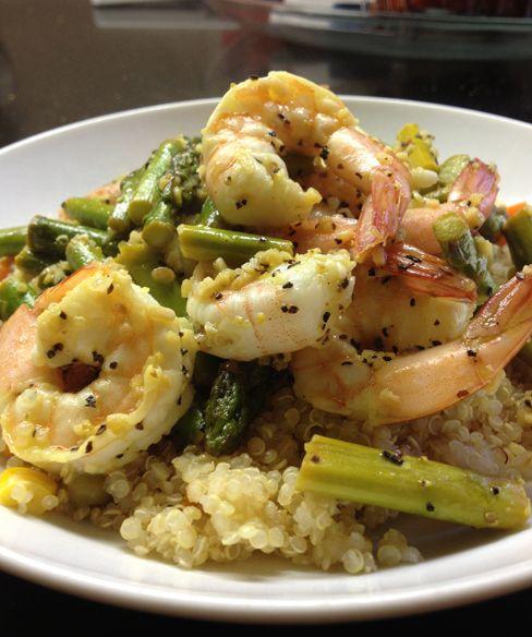 Lemony Shrimp and Quinoa   Recipes To Try!   Pinterest