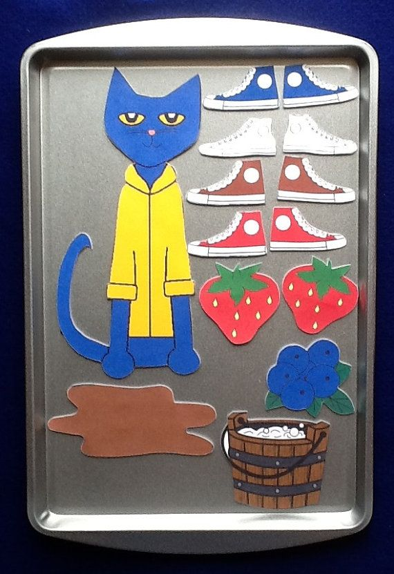 NEW Pete the Cat I Love My White Shoes Magnetic by feltresources, $10
