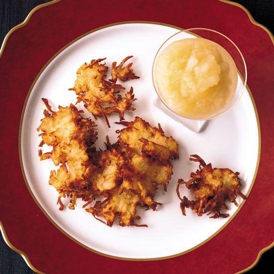 Potato-Apple Latkes