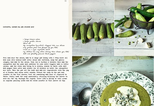 Asparagus & Pea Soup With Herb Crackers Recipes — Dishmaps