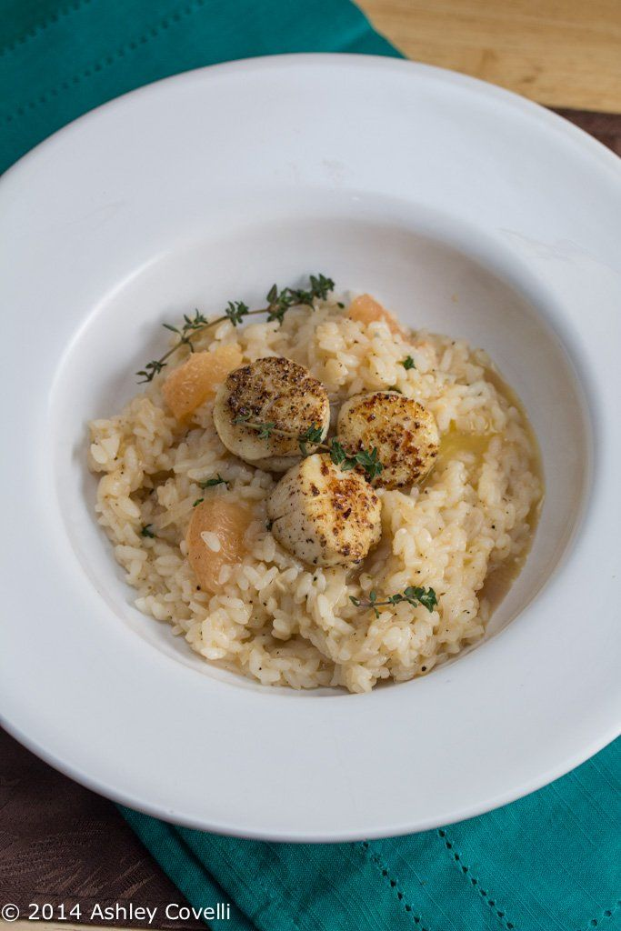 Grapefruit Risotto with Seared Scallops | Shellfish & Seafood ...