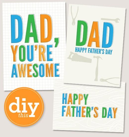 do it yourself fathers day gift ideas