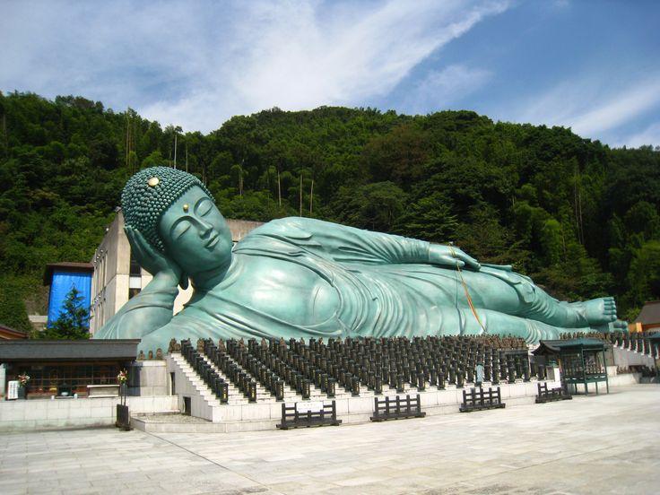 Reclining Buddha of Nanzoin, Fukuoka  Magical Japan  Pinterest