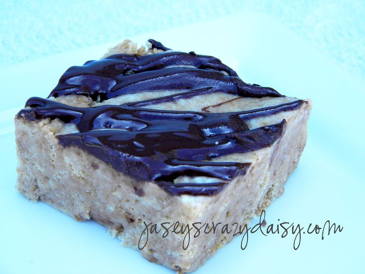 Chewy Chocolate Drizzled NutterButter Bars - NO BAKE! & only 4 ...