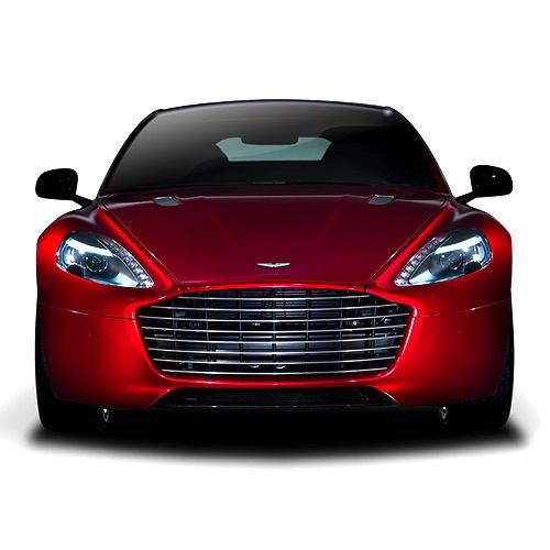 Aston Martin's Rapide - Front Grill