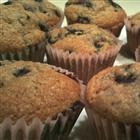 Whole wheat blueberry muffins--DELICIOUS. I added the streusel topping ...