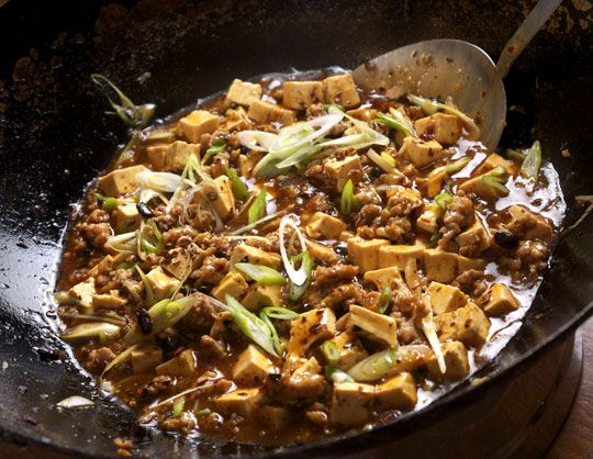 """Spicy Tofu with Beef and Sichuan Peppercorn"""" - I'm pretty sure I hav..."""