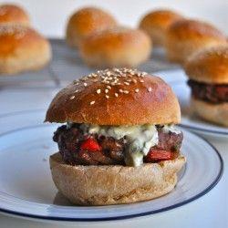 Fajita Burgers Look soo goooodd!!! | Recipes | Pinterest