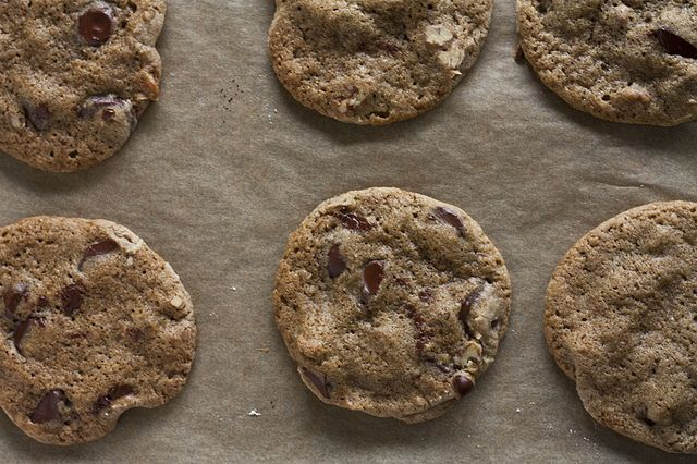 Buckwheat chocolate chip cookies | home made delicious | Pinterest