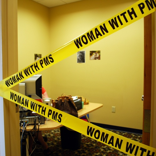 Warning!! Woman with PMS