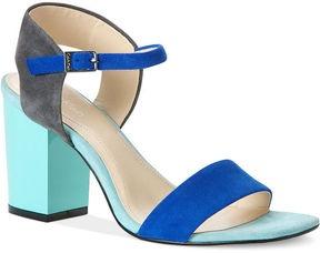 ShopStyle: Calvin Klein Womens Shoes, Verla Mid Heel Sandals