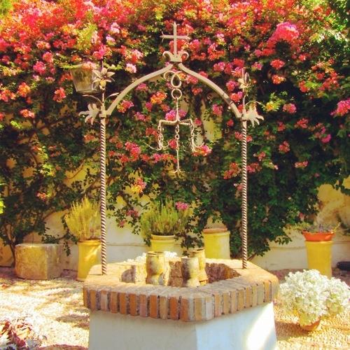 Wishing Well at Palacio de Viana, Córdoba