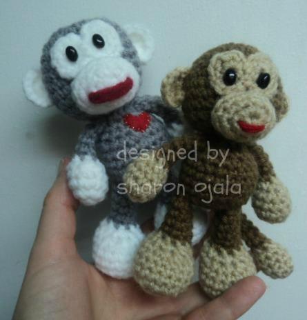 Free Pattern Crochet Monkey : Free monkey pattern Crochet Amigurumi 1 Pinterest