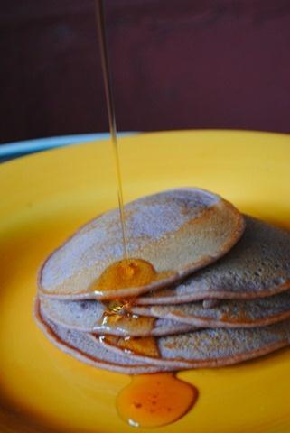 pomegranate pancakes | Recipes | Pinterest