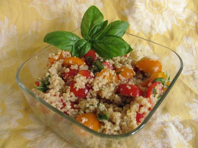 Tomato Basil Quinoa | F o o o d. | Pinterest