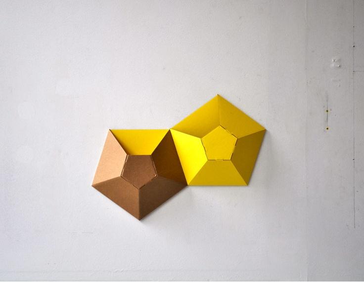 Wall pockets! Cardboard