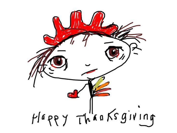 Happy thanksgiving turkey my cartoons pinterest