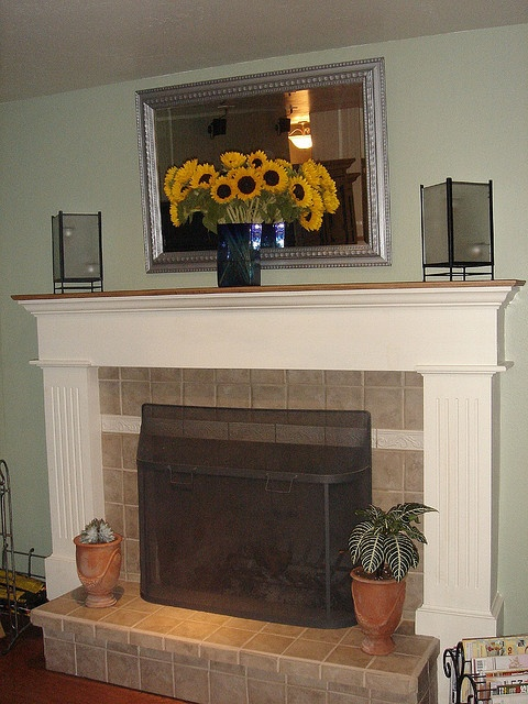 Fireplace Mantle Home Decorating Ideas Pinterest