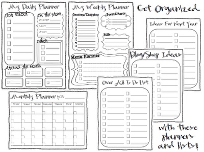 3-6 Free Resources: Free Planners & To Do Lists