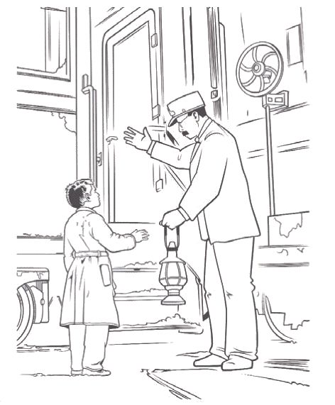 Polar Express Coloring Page 297fc127700ae6d7c806a70369733 ...