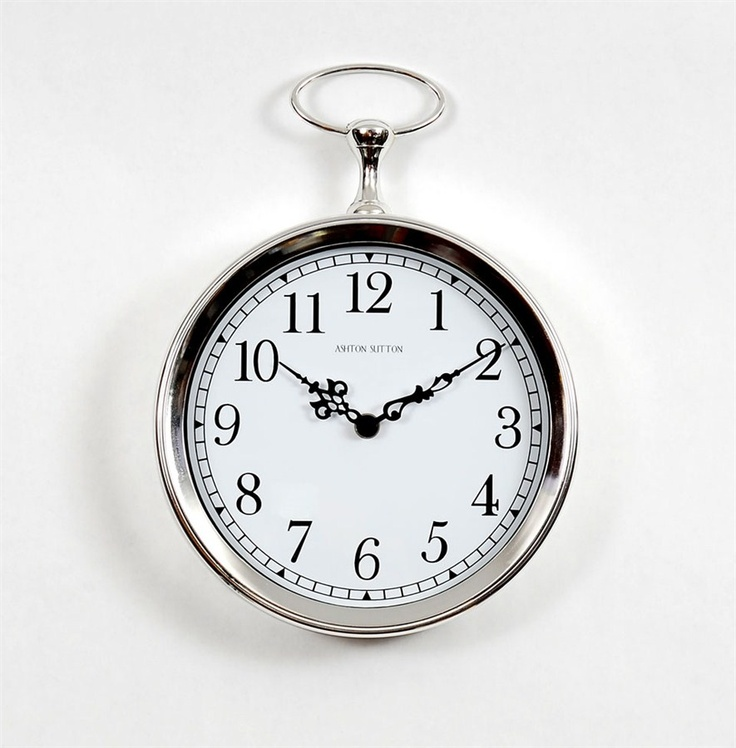 Clock for bathroom wall 22.50 For the Home Pinterest