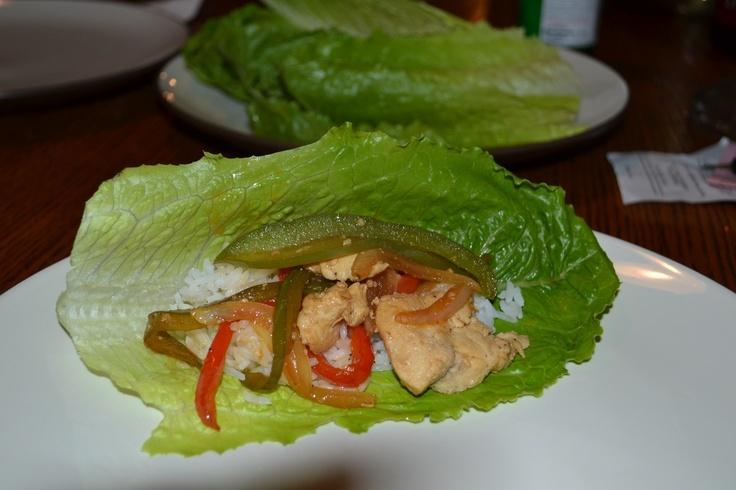 ... immediately chicken stir fry lettuce wraps stir fried chicken