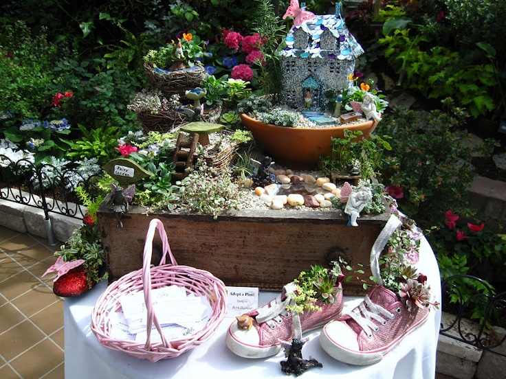 Enchanted Fairy Garden Garden Party Pinterest