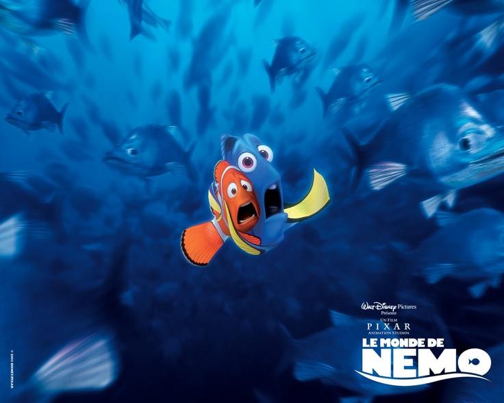 Le monde de n mo disney pixar n mo et doris disney - Nemo et doris ...