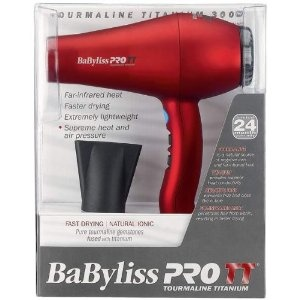 Babyliss BABTT5585 TT Tourmaline 3000 Hair Dryer $60 - finally graduated to a good dryer, definitely makes a difference