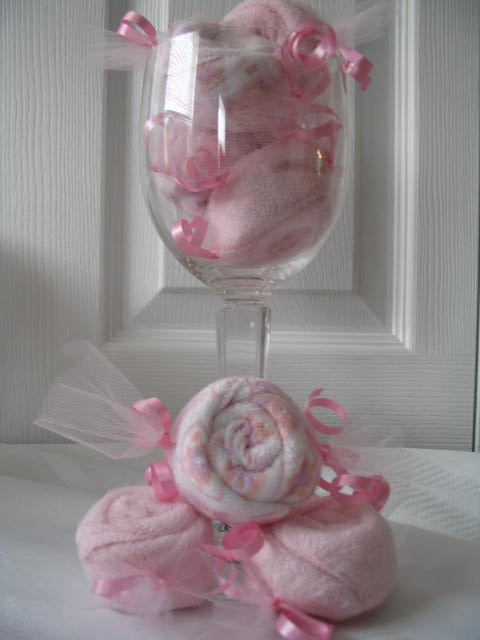 girl baby shower centerpiece event plans pinterest