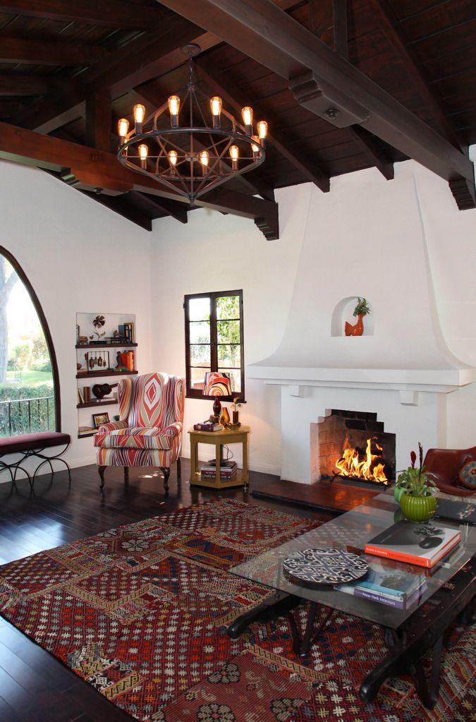 La spanish bungalow architecture haciendas bungalows for California interior style