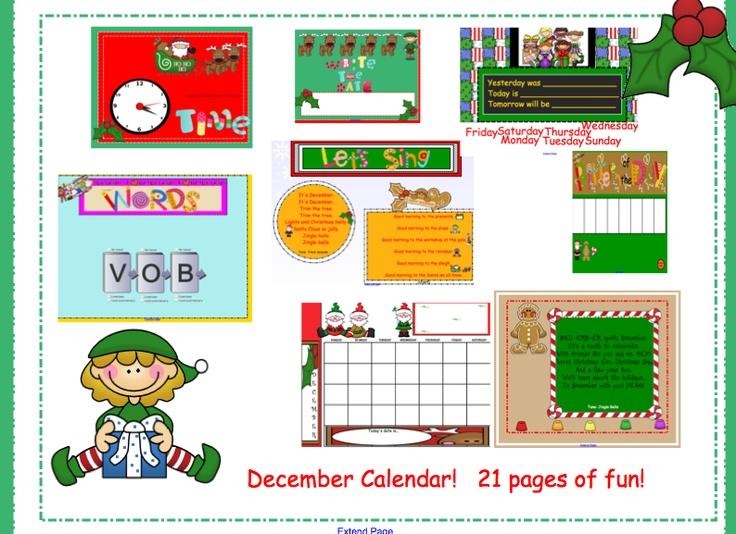 Smartboard Kindergarten Calendar : Smartboard calendars search results calendar