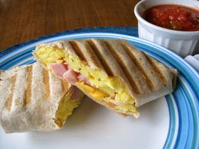 Grilled Breakfast Burritos | Recipes: smoker, grill, fryer | Pinterest