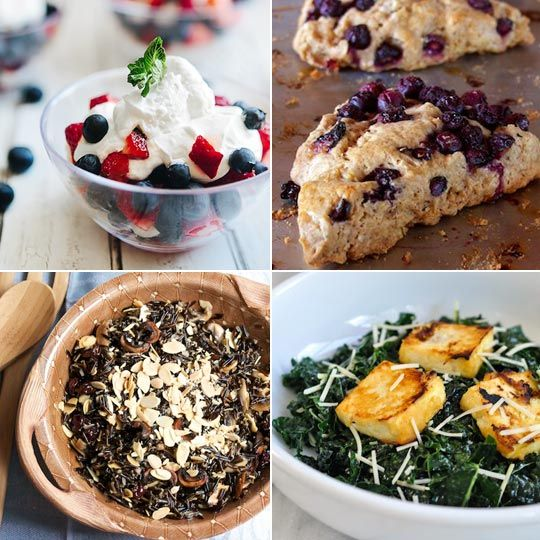 Wild Rice With Crispy Mushrooms, Cherries, And Toasted Almonds Recipes ...