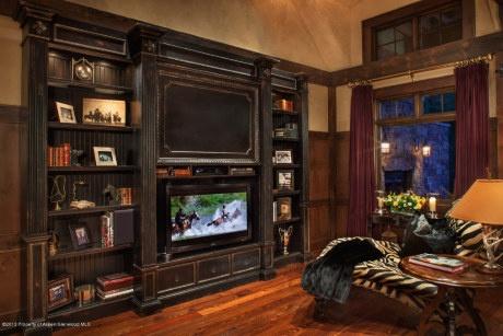 built in entertainment system living room pinterest