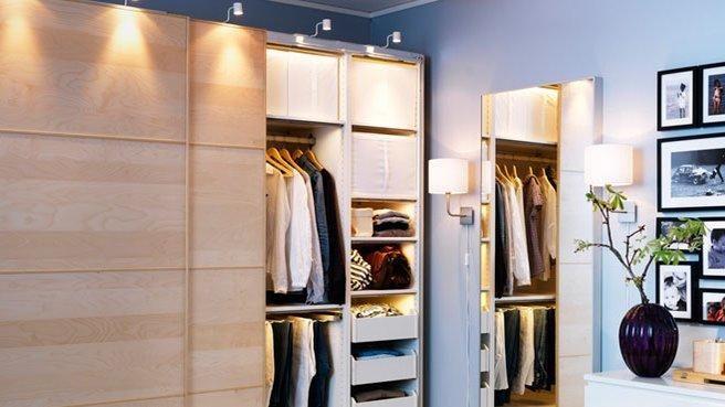 Decoration Salon Bleu Et Gris : Eclairage du dressing  déco chambre couple  Pinterest
