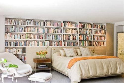 Ideas De Decoracion Para Dormitorios ~   con libros para dormitorios  Ideas para el hogar  Pinter