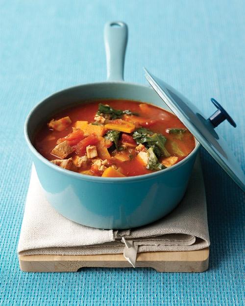 Chunky Turkey-Vegetable Soup