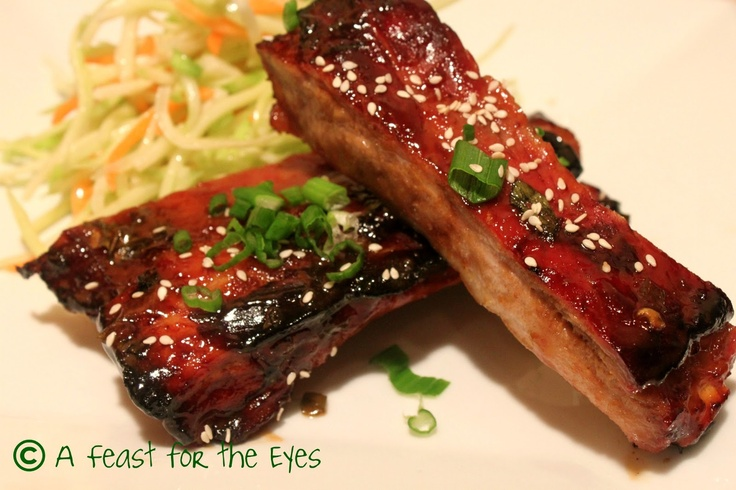 Honey Roasted Ribs | WHERE'S THE BEEF | Pinterest