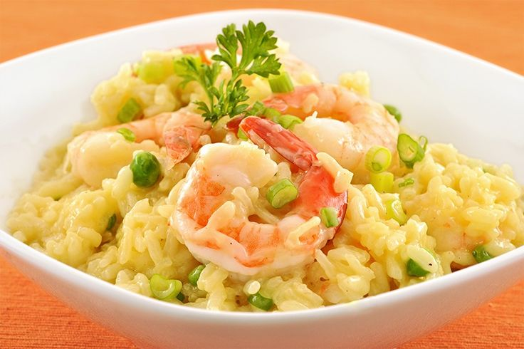 ... shrimp risotto with squid shrimp and curry leaves creamy shrimp