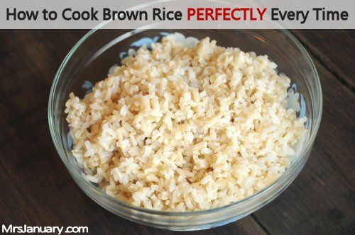 how to cook brown rice perfectly every time for me i ve never cooked ...