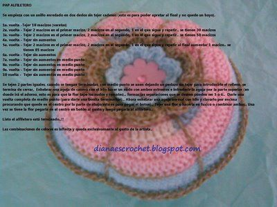 Crocheting In Spanish : Crochet pincushion - in Spanish Amigurumi, Crochet, or Knitting P ...
