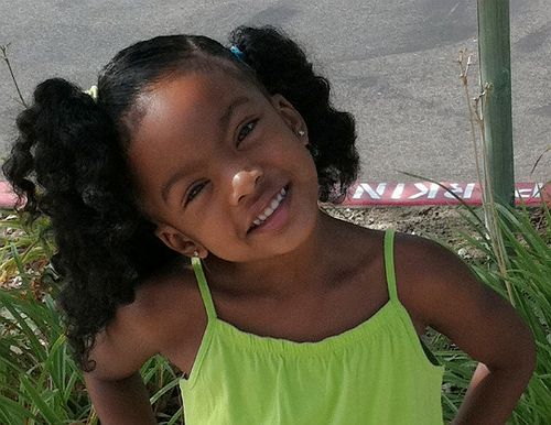 cute dread hairstyles : curly ponytails Kids natural hair styles Pinterest