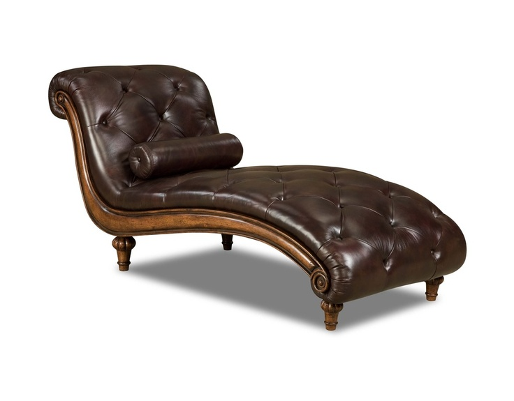 Brown leather chaise must have chair fabulous for Brown leather chaise lounge