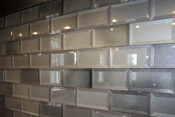 beveled subway tile granite