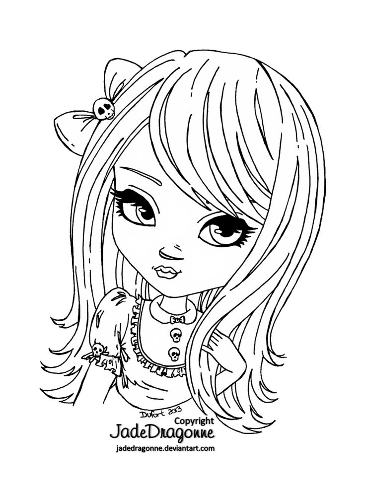 jadedragonne deviantart coloring pages - photo#46