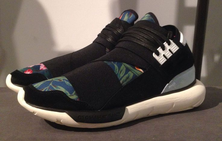 adidas Y-3 Qasa High 'Floral' for SpringSummer 2015 | Sole Collector
