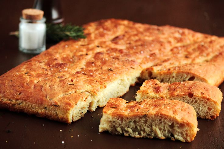 Rosemary Focaccia--Yum, try it with thinly sliced potatoes on top when ...