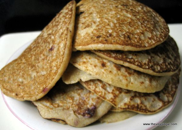 Vegan Oatmeal Pancakes | Recipes | Pinterest