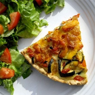 Summer Vegetable Tart | cooking and Baking | Pinterest